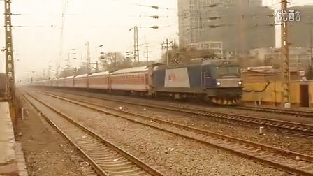 和谐D3C牵引K589(北京西-重庆北)出邢台站加速