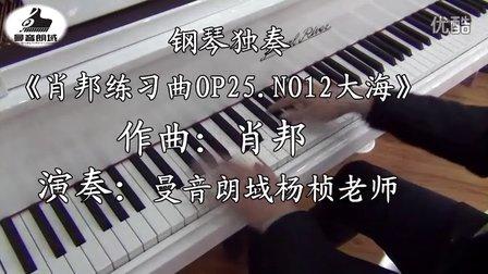 钢琴独奏《肖邦练习曲OP25.NO12大海》