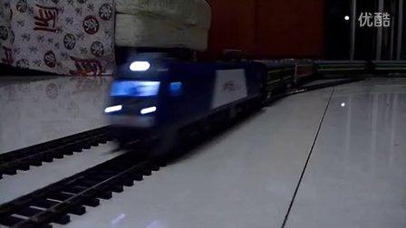 和谐HXD3模型牵引混编客车大列