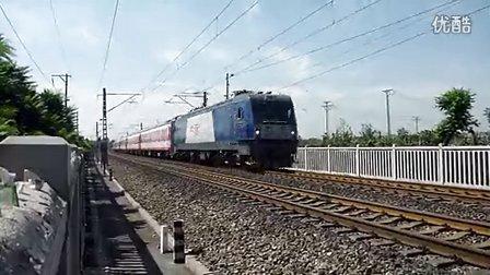 和谐D3牵引25G列车,绿屁股