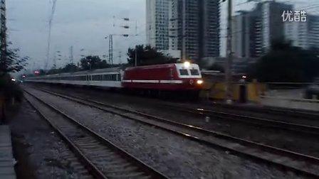 特T75傍晚通过邢台站南