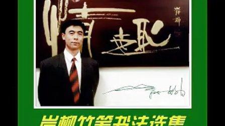 岸柳竹笔书法选集(视频)