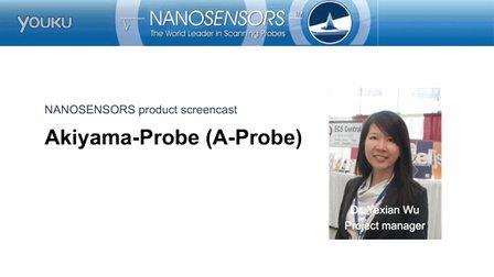 视频介绍 - Akiyama原子力显微镜探针 - NANOSENSORS™