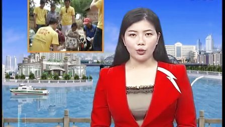深圳【聚爱会】总会陈晓杰带领会员为化州特困户送援助物...