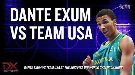 Dante Exum vs Team USA at FIBA U19 World Championships