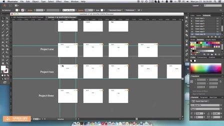 利用Ai-Adobe Illustrator制作出国留学作品集的基本步骤