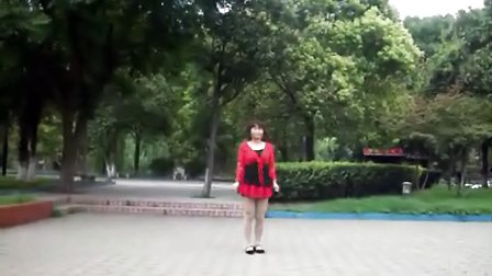 惜凤若曦学跳广场舞阿哥阿妹跳起来
