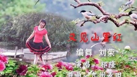 快乐每一天广场舞《又见山里红》编舞 刘荣