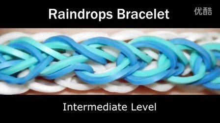 28 Rainbow Loom® 雨滴手链彩虹织机手链视频教程