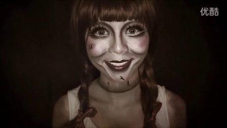 [Neat Freaks Diary] 鬼片安娜貝爾万圣节仿妆 - Annabelle Makeup Tutorial