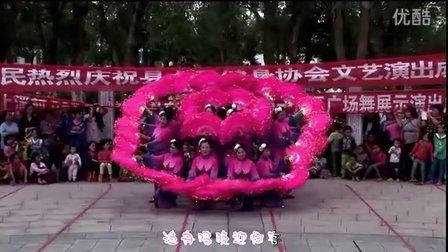 广场扇子舞《祖国的好江南》遂川县女子健身协会 天美舞蹈队
