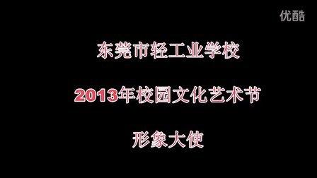 东莞市轻工业学校2014-1-5校园文化艺术节形象大使