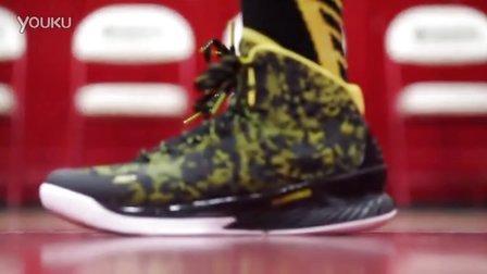 库里签名鞋 UA Curry 1 篮球鞋 实战评测