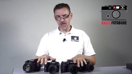 【YouTube】佳能 70D - 尼康 D7100 - 宾得 K-3 - 索尼 SLT-A77 II 对比 测评