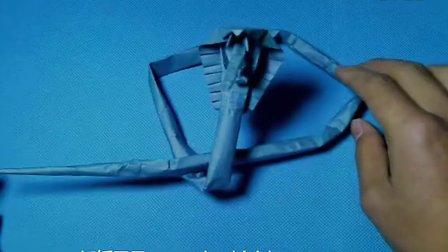 折纸王子教你折眼镜蛇(中)