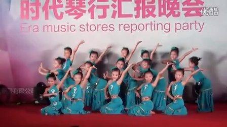 时代琴行中国舞表演一班2015年汇报晚会演出《水姑娘》