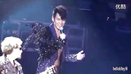 20120218 钟汉良广州演唱会 《世界第一等》 崩扣瞬间