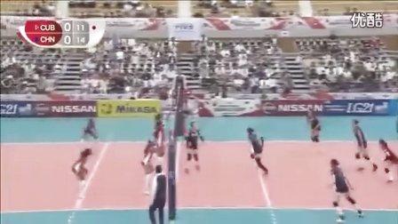女排世界杯 中国VS古巴