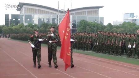 金陵中学2015级新生军训汇报表演