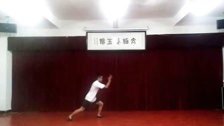 杨氏小架太极拳(学生杨鹏演练)