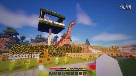 | 暮云 |Minecraft我的世界【到侏罗纪做工匠】EP.2 暮云安家记