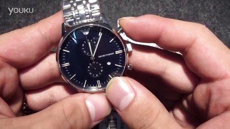 【格调名表】阿玛尼原单AR1648时尚男款腕表
