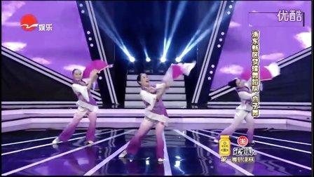 广场大民星总决赛《扇子舞》浦东新区梦蝶舞蹈队