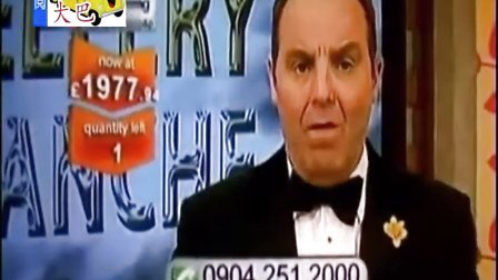 搞笑视频-英国电视主播镜头前打喷嚏流涕出糗