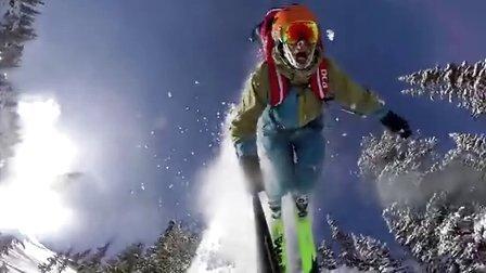 GoPro:雪瘾——2014/15 冬季最佳滑雪路线赛集锦
