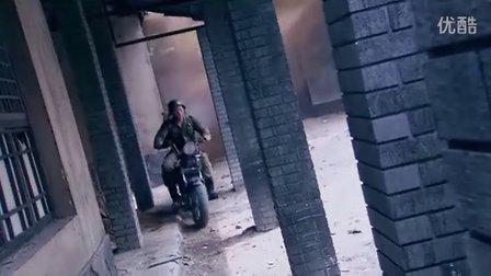 训练钢盔马靴摩托兵