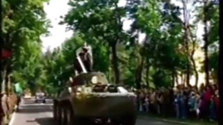 西方军队集群(驻德集群)撤离前阅兵分列式
