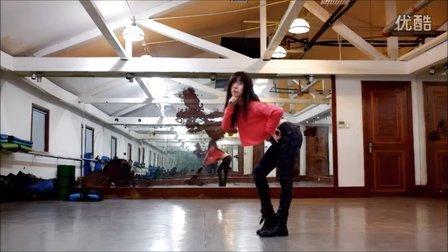 【鱼儿舞蹈】爵士舞JAZZ《因为红》2016年01月18日