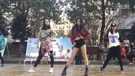 怀化学院街舞协会New Step Crew  2015社团招新 KPOP韩舞串烧