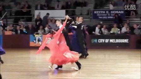 2015 WDSF Australian Open Dancesport Championship STD Final 澳大利亚标准舞决赛