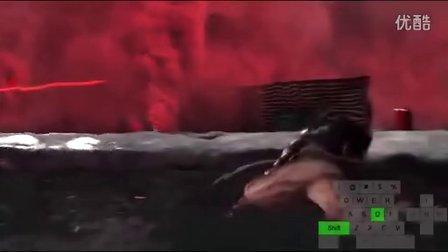 古墓丽影崛起枪战攻略--研发基地红色烟雾战