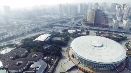 上海体育馆华亭宾馆漕溪路立交桥(高清)