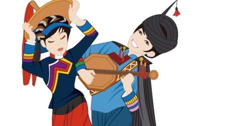 彝族月琴的传说