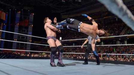 【Raw 3/14】虐恋!AJ Styles反击杰里科