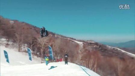 单板滑雪世锦赛坡式障碍赛女子组决赛精彩瞬间