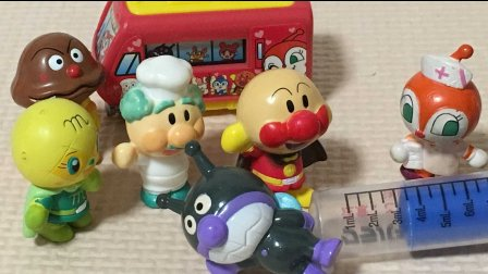 【happy face】【children】 面包超人  体检