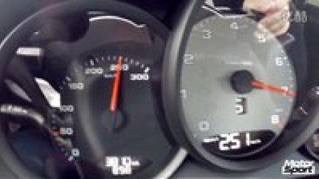 保时捷Porsche 718 Boxster S(手排)  0-250 km-h加速