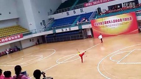 2016年重庆市老运会柔力球个人自选套路 垫江  缘分
