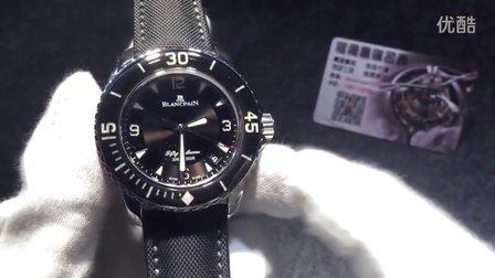 【格调名表】N厂出品宝珀50寻5015-1130-52 超强夜光潜水表 搭载2836机芯