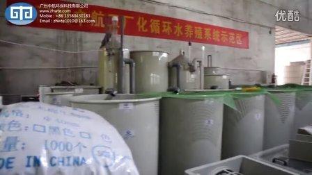 广州中航环保-工厂化循环水养殖系统示范区视频