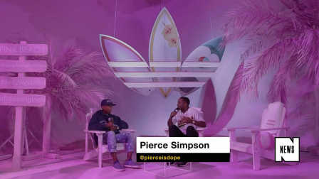Pharrell on His adidas Originals 'Pink Beach' Collection