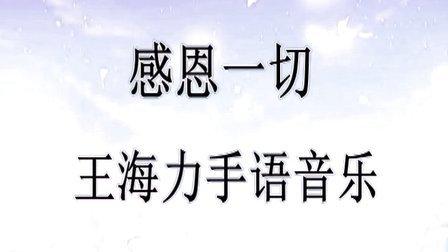 《感恩一切》王海力手语音乐
