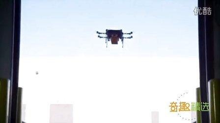 无人机真的送快递啦-全过程自动