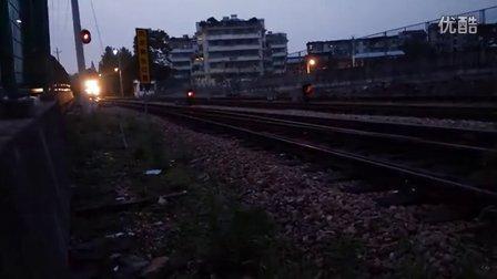 浙江兰溪火车视频