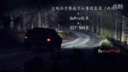 【直录】【GoPro视角】尘埃拉力赛-威尔士赛段(雨战)
