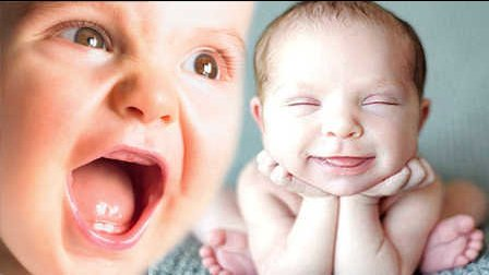 笑死不偿命:开心!宝宝笑声根本停不下来